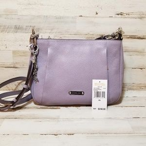 Michael Kors Hallie Messenger Lilac